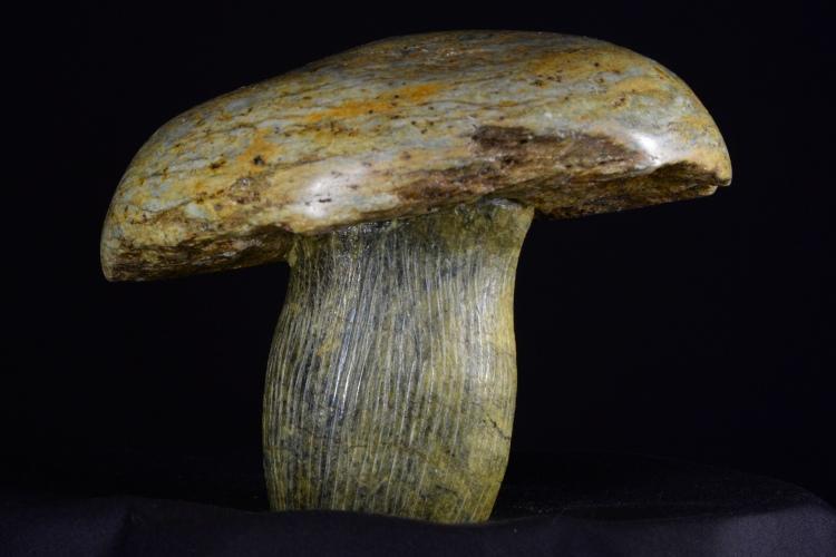 Soapstone Mushroom
