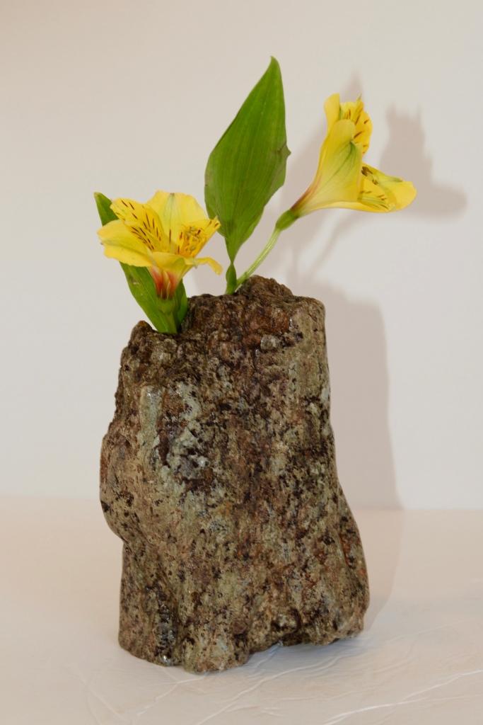 Soapstone Stem Vase