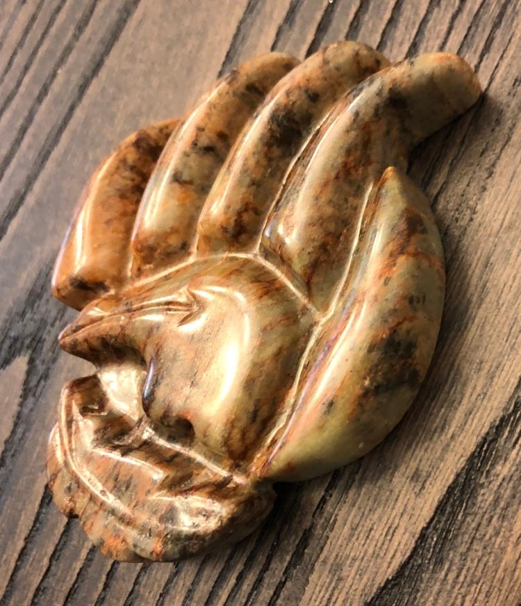 Soapstone bear claw