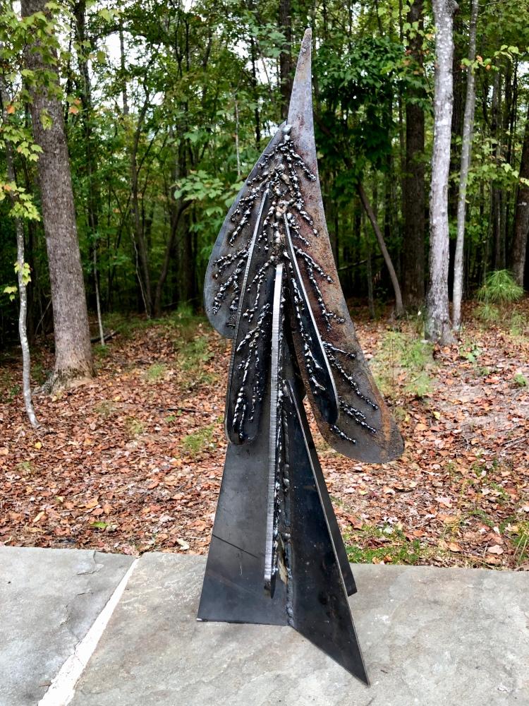 Iron pine tree