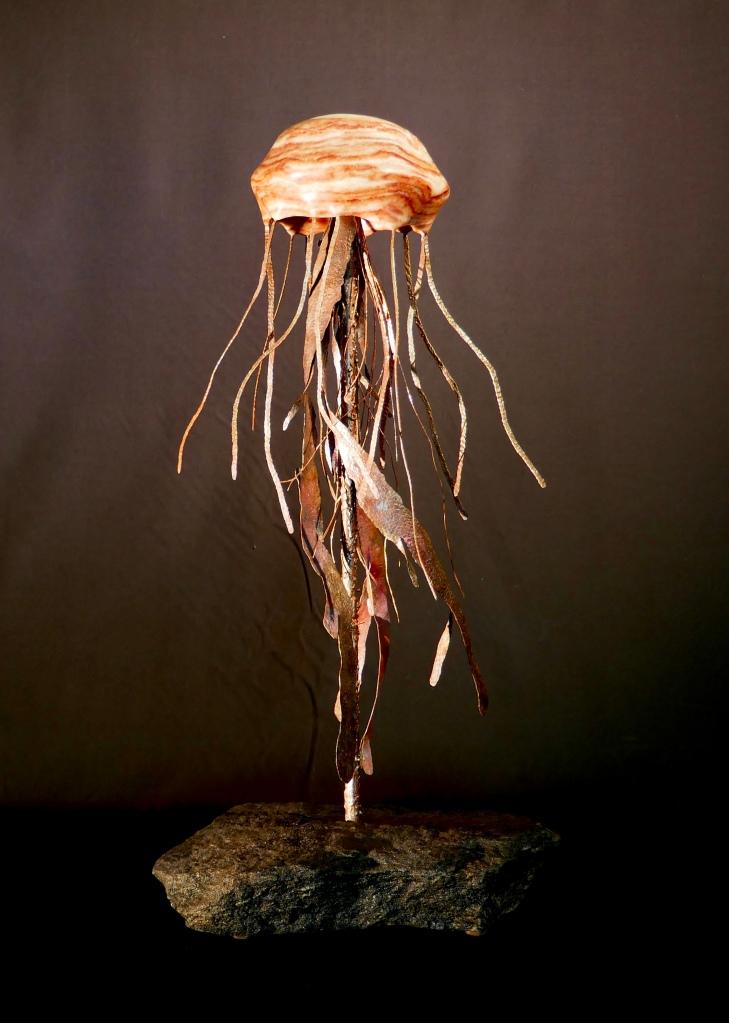 alabaster & copper jellyfish