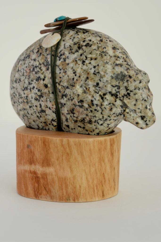 Granite Fetish Bear